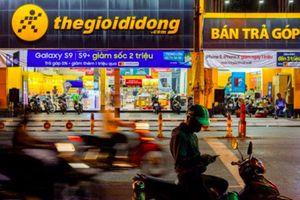 Hệ thống cửa hàng Thegioididong.com tiếp tục bị thu hẹp