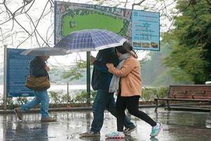 Thời tiết ngày 2/3: Bắc Bộ và Trung Bộ mưa nhiều nơi, trời chuyển rét