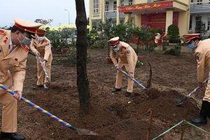Cục CSGT phát động Tết trồng cây