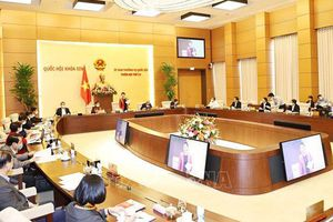 Ngày 10-3, phiên họp thứ 54 của Ủy ban Thường vụ Quốc hội dự kiến diễn ra