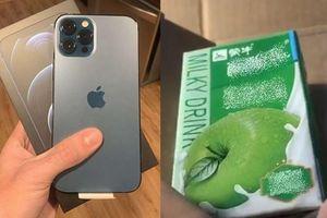 Đặt mua iPhone 12 Pro Max giá 35 triệu, nhận được sản phẩm 'Apple' nhưng không phải iPhone