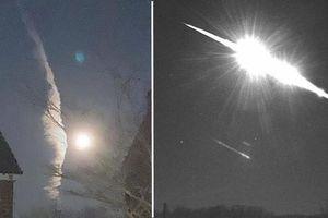 Một mảnh tiểu hành tinh vừa văng xuống Trái Đất, trước đó có hình ảnh kỳ bí trên bầu trời
