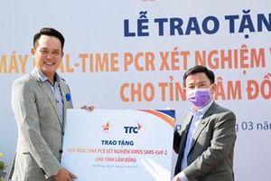 Tặng máy xét nghiệm tự động Real-time PCR cho tỉnh Lâm Đồng