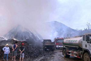 Cháy xưởng chế biến quế ở Bảo Thắng (Lào Cai)