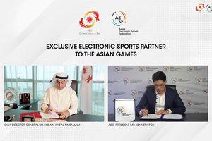 Thể thao điện tử sẽ có mặt tại Asian Games 2022