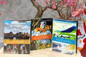 Ra mắt 3 cuốn tiếp theo trong Bộ danh họa Larousse về các họa sĩ nổi tiếng thế giới