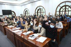 Đồng chí Trần Thanh Mẫn và đồng chí Hầu A Lềnh được giới thiệu ứng cử Đại biểu Quốc hội khóa XV