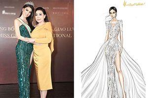 8 bản thiết kế đầm dạ hội của Ngọc Thảo dự thi quốc tế