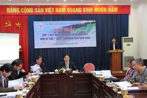 VUSTA góp ý kiến Quy hoạch mạng lưới đường sắt của Bộ GTVT