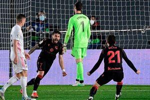Real Madrid hòa thất vọng trước Sociedad