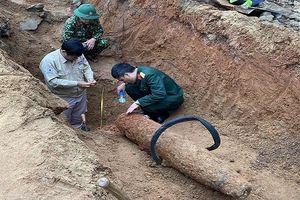 Phát hiện quả bom nặng 227kg trong khu vực dân cư