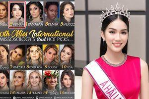 Phương Anh được Missosology dự đoán giành ngôi vị á hậu 1 Hoa hậu Quốc tế 2021