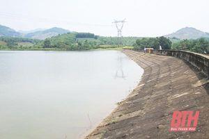 Xử lý khẩn cấp sự cố, đảm bảo an toàn hồ đập đối với hồ Sông Mực