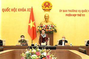 Thường vụ Quốc hội quyết định nhiều nội dung quan trọng tại phiên họp cuối khóa 14