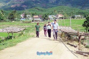 Hiệu quả từ những mô hình dân vận khéo ở Trà Bồng