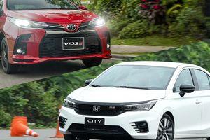 Với 600 triệu đồng mua Honda City RS hay Toyota Vios GR-S?