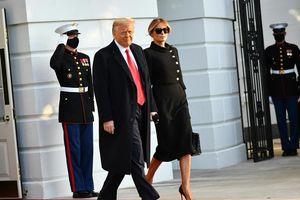 Vợ chồng Trump tiêm vaccine COVID-19 trước khi rời Nhà Trắng