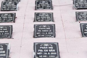 1 nghĩa trang thai nhi tại Đà Nẵng bị đình chỉ hoạt động