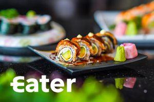 Hương vị sushi lươn kết hợp phô mai ở TP.HCM