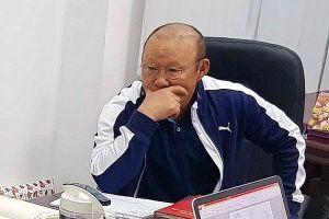 HLV Park muốn tuyển Việt Nam làm quen với thời tiết UAE
