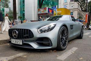 Mercedes-AMG GT Roadster độc nhất Việt Nam tái xuất tại TP.HCM