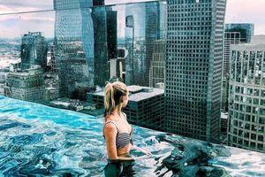 Bể bơi vô cực cao nhất ở Texas