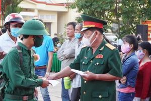 Vĩnh Long: Đưa tiễn 1.131 thanh niên lên đường nhập ngũ