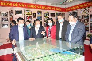 Bí thư Thành ủy Hà Nội kiểm tra, khảo sát các công trình phục vụ SEA Games 31