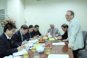 TSKH Phan Xuân Dũng làm việc với Hội KHKT Đúc – Luyện kim Việt Nam