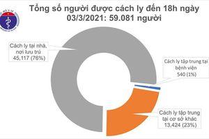 Chiều 3/3, Việt Nam có 7 ca mắc mới COVID-19 ở Hải Dương và Kiên Giang