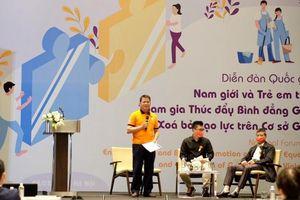 Nam giới tham gia thúc đẩy bình đẳng giới và xóa bỏ bạo lực giới