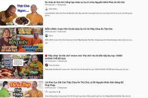 Sự thật hàng loạt clip Youtube về 'thầy chùa ăn thịt chó'