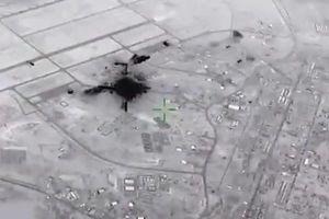 Mỹ lần đầu công bố hình ảnh căn cứ quân sự bị tên lửa Iran tấn công
