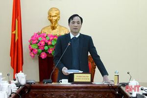 Thống nhất thành lập đoàn '3 trong 1' giám sát công tác bầu cử sắp tới tại Hà Tĩnh