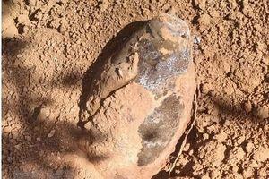 Phát hiện quả bom lớn trong khu vực dân cư tại tỉnh Đắk Nông