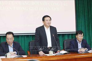 Hội thảo về đổi mới sự lãnh đạo của Đảng đối với công tác lý luận