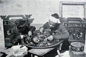 Hàng Khay - Phố khảm trai một thời độc quyền ở Viễn Đông
