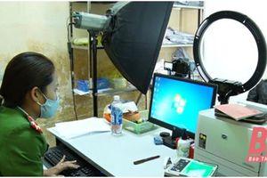 Công an huyện Thọ Xuân mở cao điểm 80 ngày không nghỉ phục vụ Nhân dân làm căn cước công dân