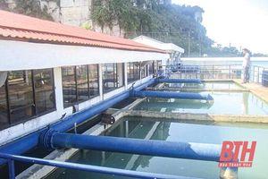 Nâng công suất Nhà máy nước Mật Sơn lên 70.000 m 3 /ngày, đêm