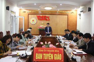 Phân công nhiệm vụ tuyên truyền bầu cử ĐBQH khóa XV và đại biểu HĐND các cấp nhiệm kỳ 2021-2026