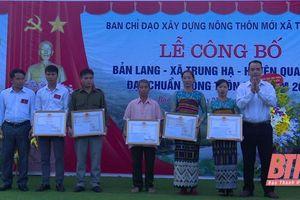 Thẩm định xã vùng cao Trung Hạ đạt chuần nông thôn mới