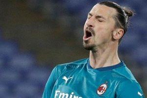 Ibrahimovic không thể cùng Milan đối đầu MU vì chấn thương?
