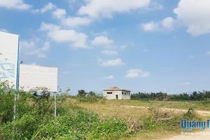 Dự án nhà máy nước Quảng Ngãi: Nguy cơ tiếp tục chậm tiến độ