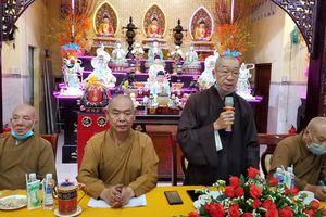 Ban Trị sự Phật giáo quận 8 họp triển khai công tác Phật sự năm 2021