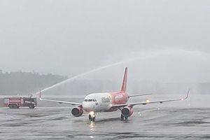Vietjet 'xông đất' sân bay Vân Đồn năm mới Tân Sửu