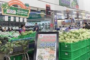 Hướng dẫn thu mua, tiêu thụ hàng hóa, nông sản của vùng đang có dịch