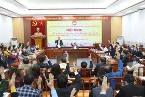 Giới thiệu Ủy viên Bộ Chính trị Trần Thanh Mẫn ứng cử Đại biểu Quốc hội khóa XV