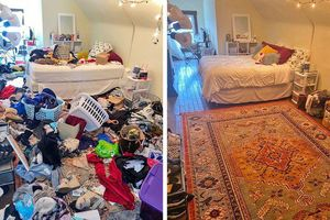 Nhìn loạt ảnh trước và sau khi dọn dẹp mà choáng: Không có căn nhà nào xấu, chỉ do bạn lười thôi!
