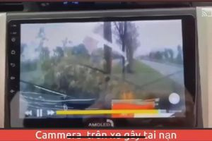 Ôtô 'điên' đâm nhiều phương tiện khiến 3 người thương vong ở Mê Linh
