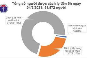 Còn 51.572 người cách ly chống dịch COVID-19